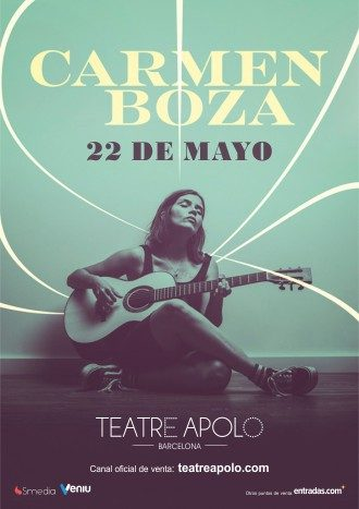 Carmen Boza en concierto