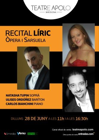 Recital Lírico - Ópera y Zarzuela